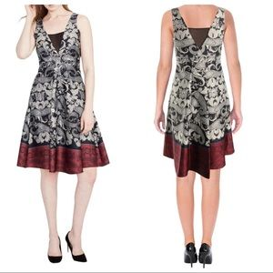 Rachel Rachel Roy Paisley Knee-Length Dress